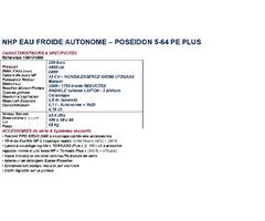 NETTOYEUR H.P. NILFISK MC M5  P.E.+ (POSEIDON 5.64+)